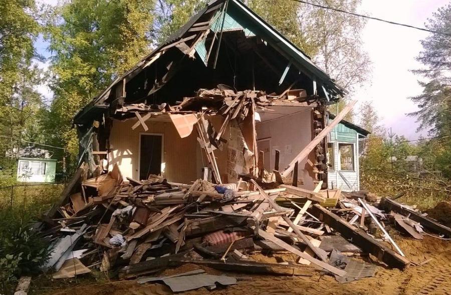 построили дом, а его хотят снести